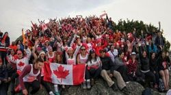 Our Anthem On Top Of A B.C. Mountain Is Perfect For Canada