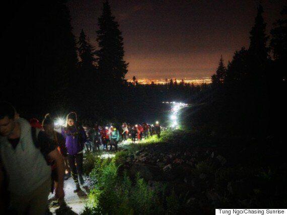 Mount Seymour Sunrise 'O Canada' Is Perfect For Canada