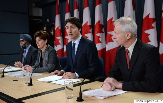 Trudeau: Canada's Bombing Mission Against ISIS To End Feb.