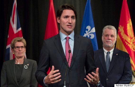 Trudeau Has Wind At Back En Route To Paris Due To Apparent Provincial Climate
