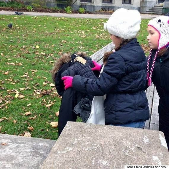 Canadians Are Leaving Toques And Coats Outside To Help The