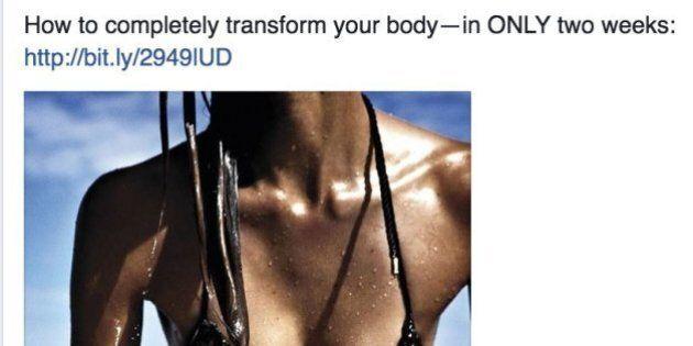 Harper's Bazaar Under Fire For 'Transform Your Body' Facebook