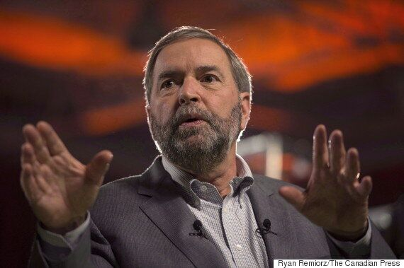 Mulcair: Lone Syrian Men Shouldn't Be Excluded From Refugee
