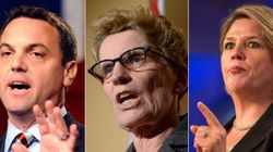 Ontario Leaders Spar In Election