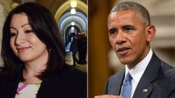 Obama Acknowledge's Monsef's