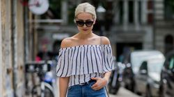 The Genius Hack That'll Keep Your Off-The-Shoulder Tops In