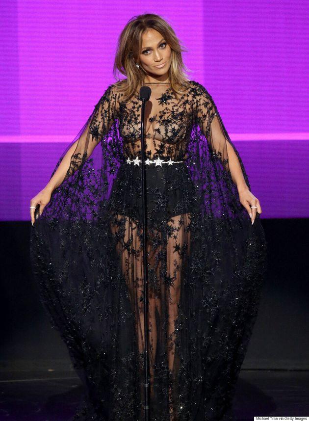 Jennifer Lopez's 10 Stunning American Music Awards Outfits