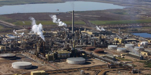 Fort McMurray, Alberta. Syncrude Canada's upgrader facility at the company's oil sands