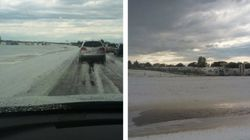 Alberta Storm Brings Hail And Fire And Floods (Oh