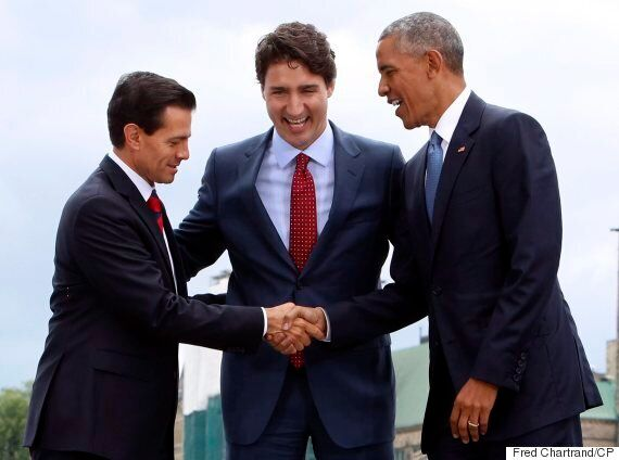 Three Amigos Summit: Trudeau, Obama, Pena Nieto United Against