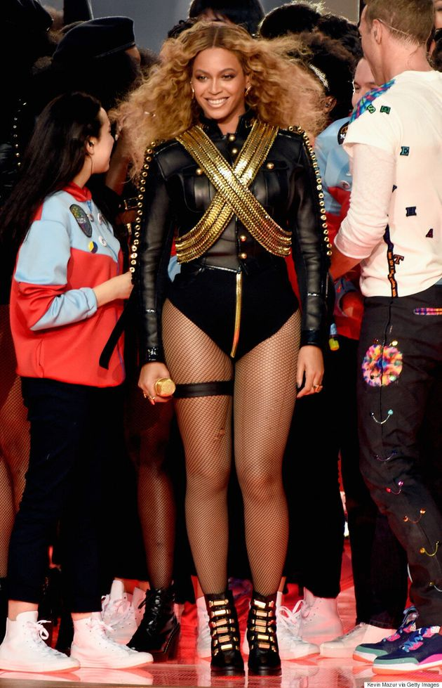 Beyoncé Takes On Michael Jackson's Iconic Super Bowl Outfit For Halftime