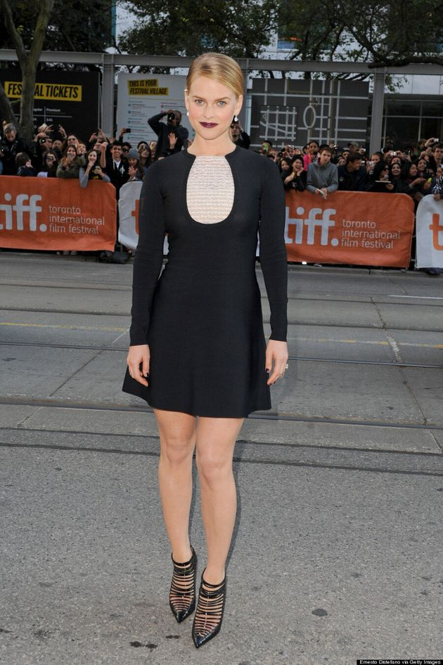 Alice Eve's TIFF 2014 Finger Art Is Very