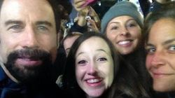 John Travolta's Lumberjack Beard Is
