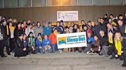 Vancouver VIPs Sleep Out To Raise Money For