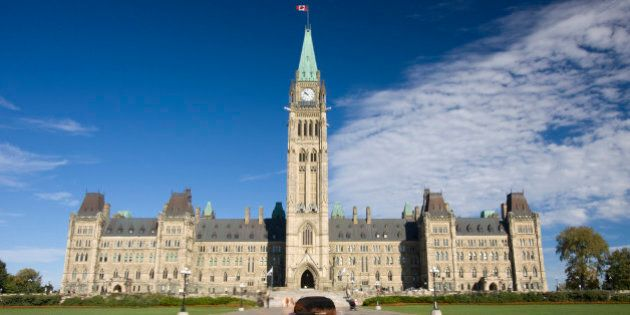 The Parliament of Canada and heroes flame in OttawaSee more of my similar pictures at: