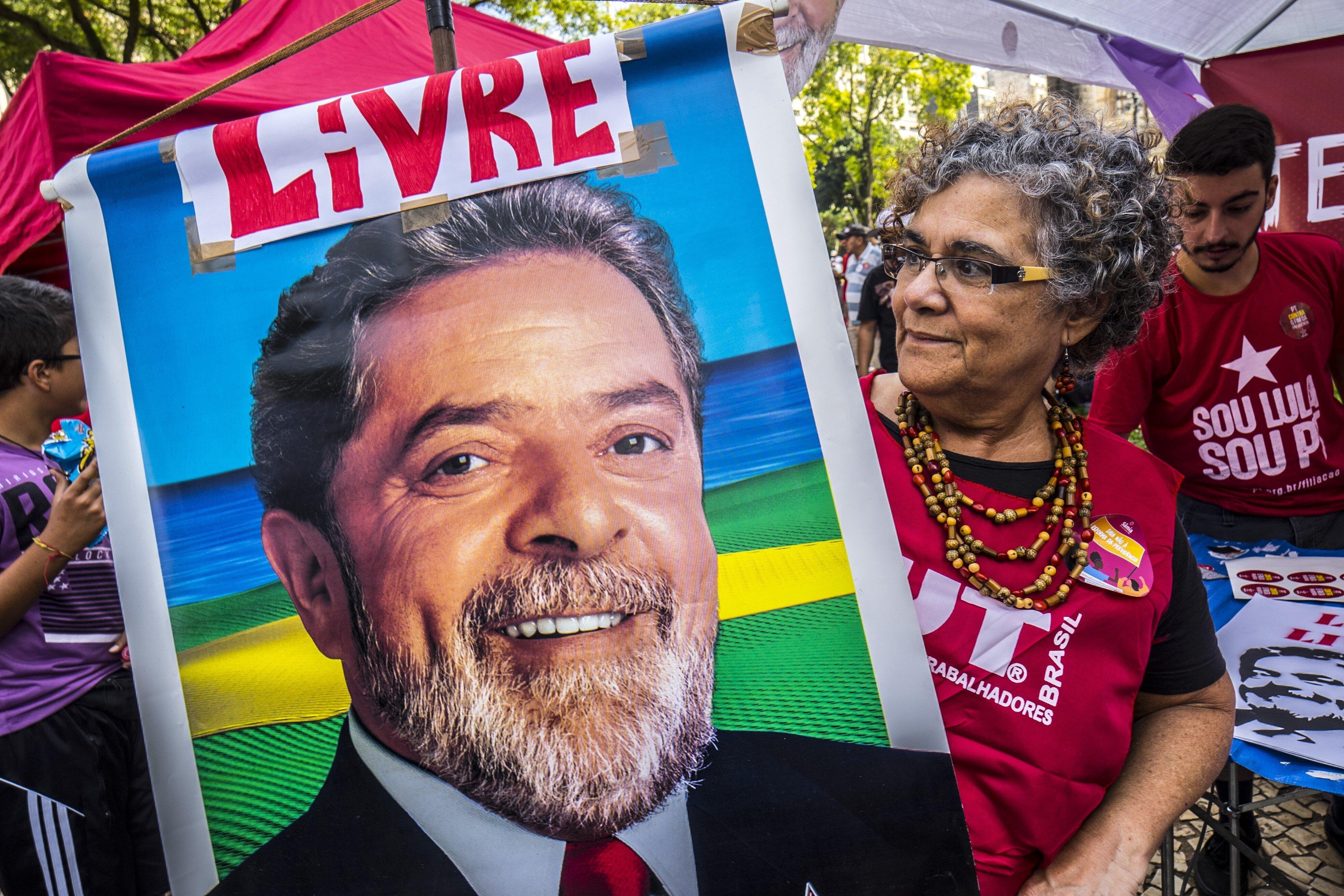 ΒΡΑΖΙΛΙΑ: Ο πρώην πρόεδρος Λούλα διαφωνεί με την χρήση των όπλων ως λύση του προβλήματος βίας στην