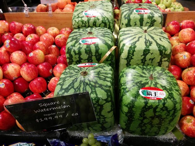 Square Watermelons Sell For $200 In