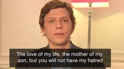 Paris Widower Reads Out Defiant Letter To