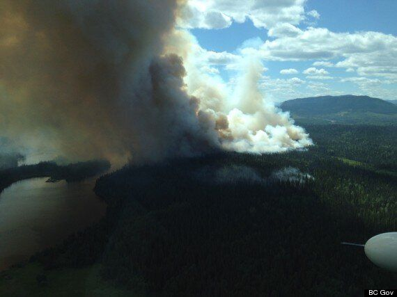 Heat Wave In B.C. Brings Wildfires, Air Quality