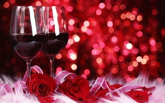 Counting Down To Valentine's Day And Sparkling Rosés At