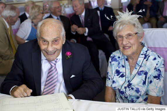 World's Oldest Newlyweds Tie The Knot After 27