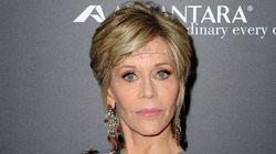 Jane Fonda Brings Boho Elegance To The 'Youth' Red