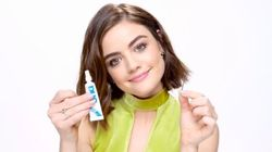 Lucy Hale's Simple Trick To Applying Fake