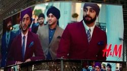 H&M Billboard In NYC Features Sikh Models In
