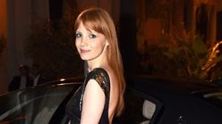 Jessica Chastain Shimmers In