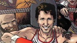 Trudeau Joins Canadian Superheroes On Marvel Comic Book