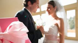 Sticky Situation: Two Wedding Celebrations, How Many