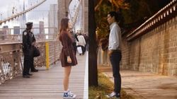 Couple's Photos Bring Their Long Distance Relationship Closer