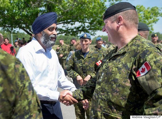 Harjit Sajjan Unveils Funding For New Training Facilities For IED