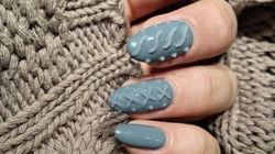 This New Cozy Nail Trend Comes Just In Time For