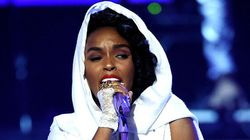 Janelle Monáe Bares Butt In Honour Of Prince At BET