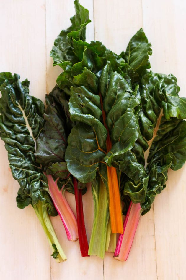 Cooking in Season: Easy Swiss Chard Stir Fry With