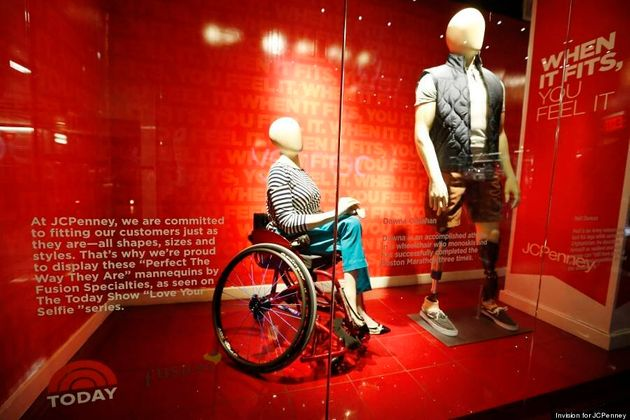 JCPenney's 'Real Size Mannequins' Feature Woman In Wheelchair, Man With