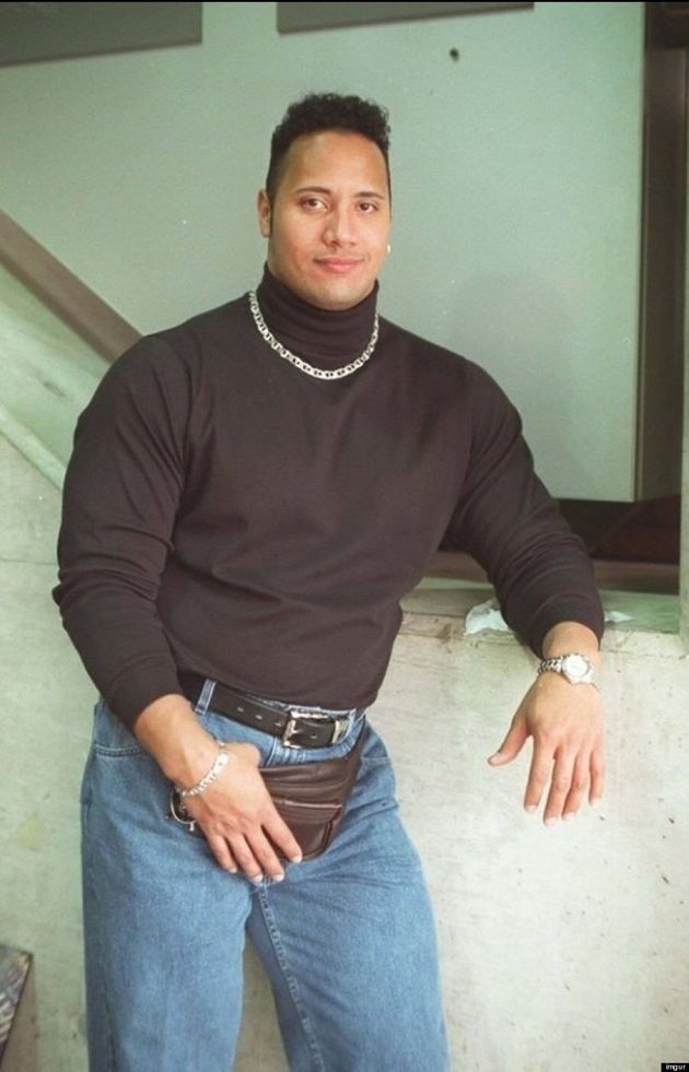 Dwayne 'The Rock' Johnson Rocked '90s Style Like A Bad