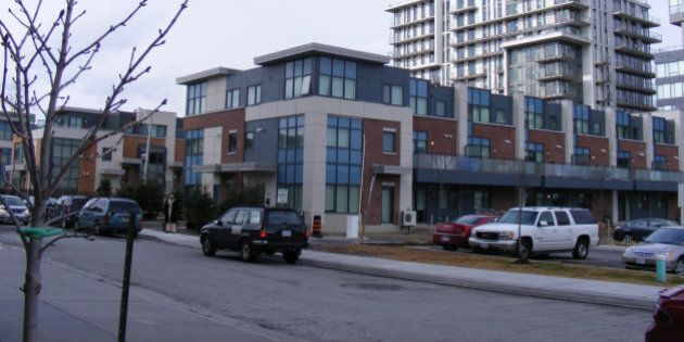 Townhouses and highrises replace 1950s public housing