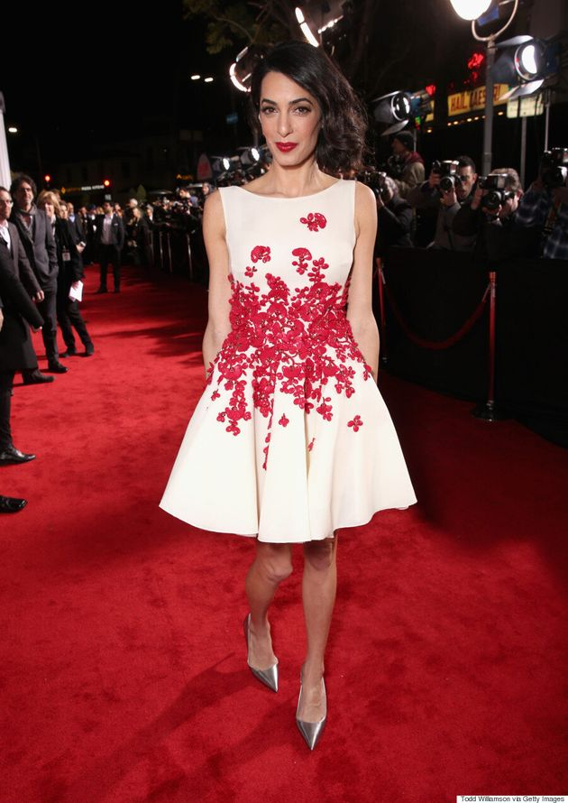 Amal Clooney Steals The Show On 'Hail, Caesar!' Red Carpet
