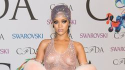 Rihanna Twerks In See-Through