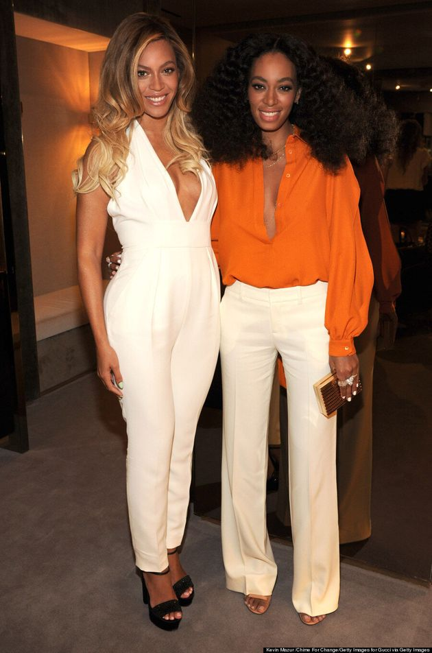 Beyonce And Solange Avoid Drama In The Most Stylish Way