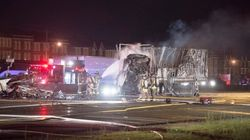 Fire Guts Truck Trailers, Vehicles In Deadly North Toronto