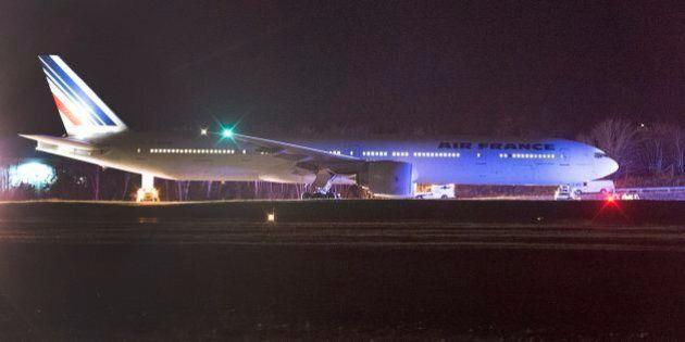 Air France Planes Land In Halifax, Salt Lake City After