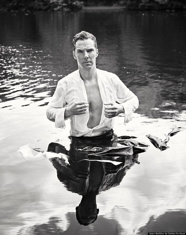 Benedict Cumberbatch Taking Off His Shirt Is The Only Photo You Need To