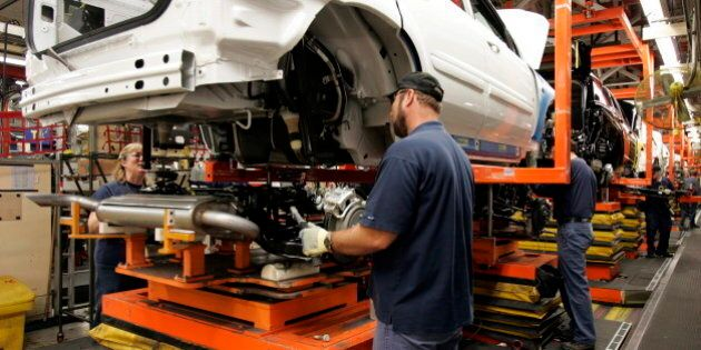 Canada's Manufacturing Sales Hit Record High In July, StatsCan