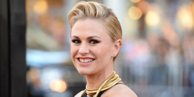 HOLLYWOOD, CA - JUNE 17: Actress Anna Paquin attends the premiere of HBO's 'True Blood' season 7 and...