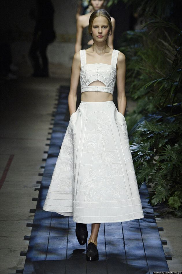 Wedding Dress Ideas From The Spring 2015 Runways
