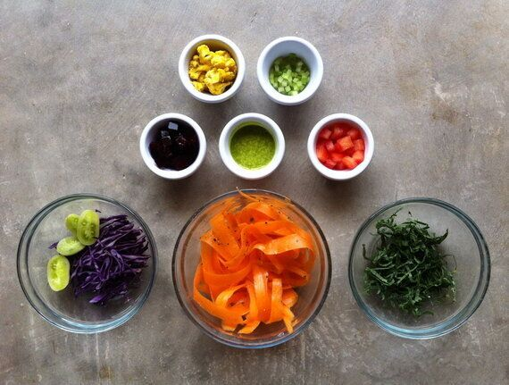 A Colourful Recipe for