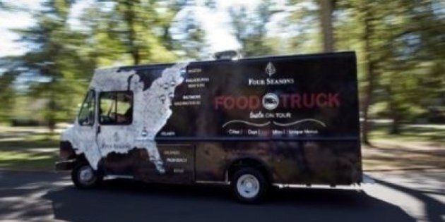 Four Seasons Food Truck Takes On The East